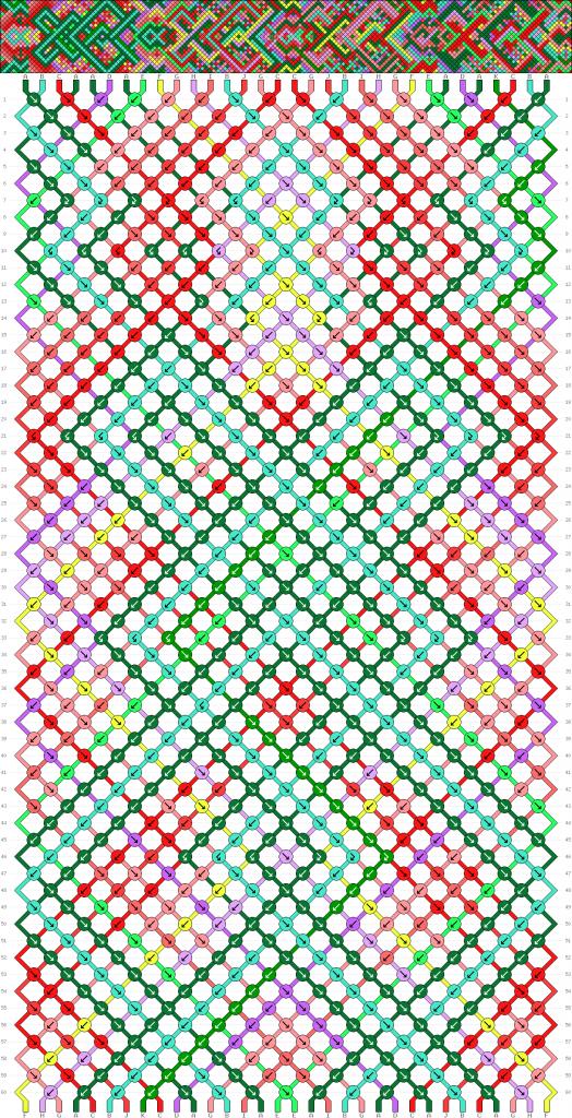 Схема фенечки 34584