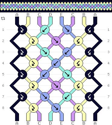 Схема фенечки 34588