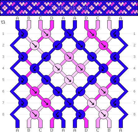 Схема фенечки 34604