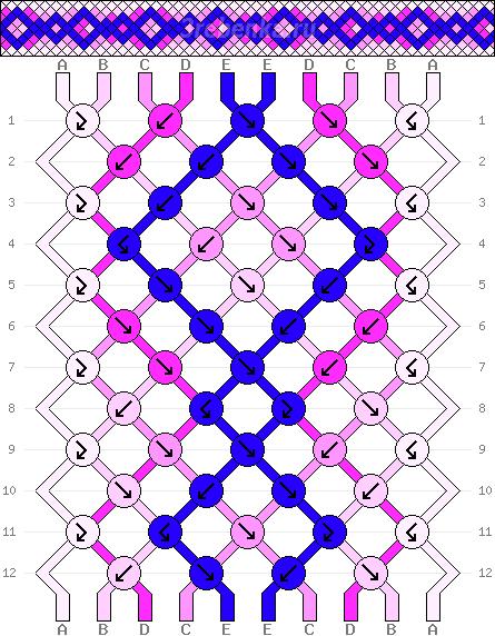 Схема фенечки 34608