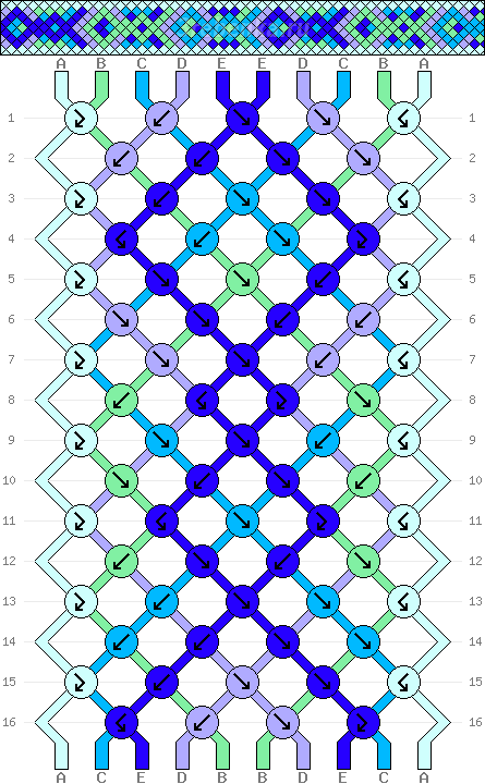 Схема фенечки 34612