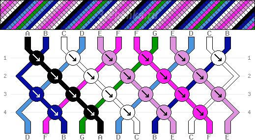 Схема фенечки 34634