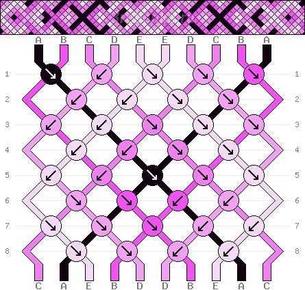 Схема фенечки 34638