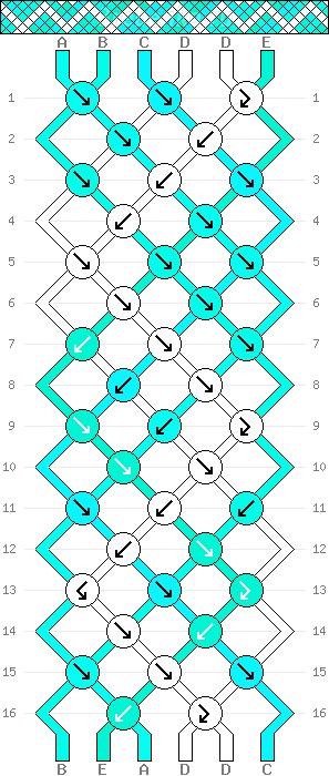 Схема фенечки 34642