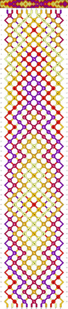 Схема фенечки 34646