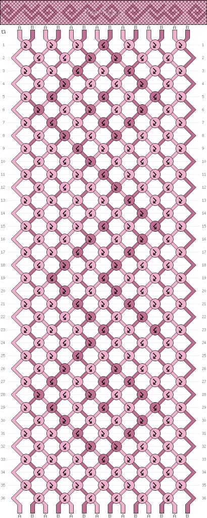 Схема фенечки 34650