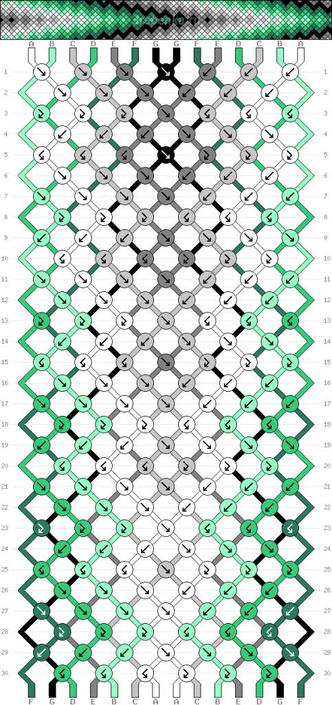 Схема фенечки 34658