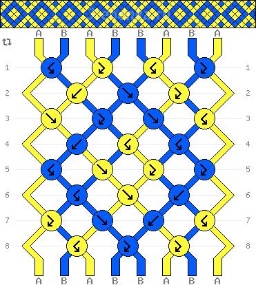Схема фенечки 34662