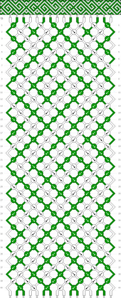 Схема фенечки 34666