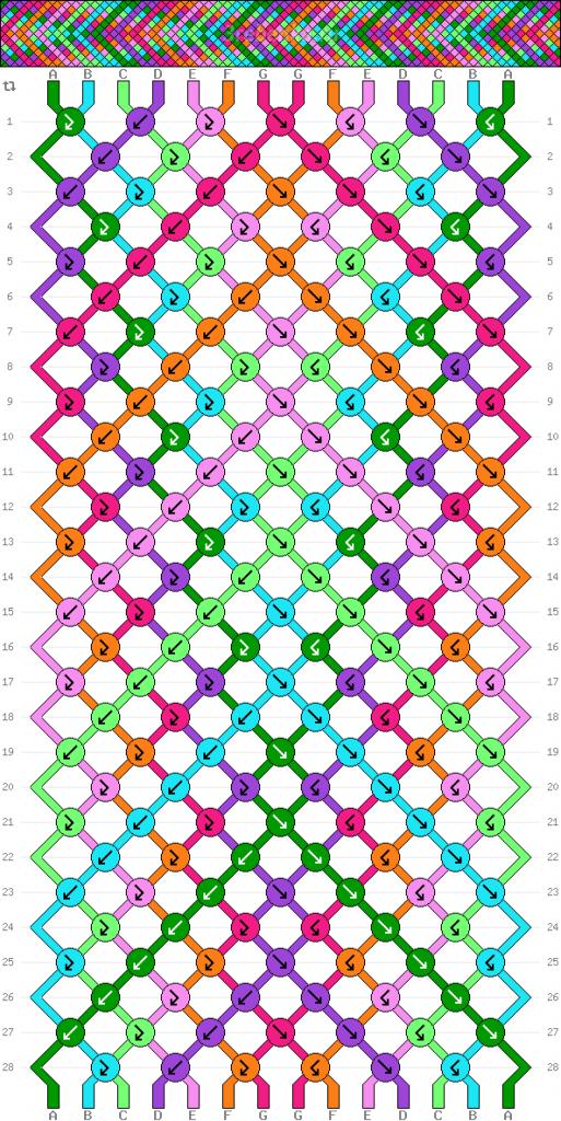 Схема фенечки 34690