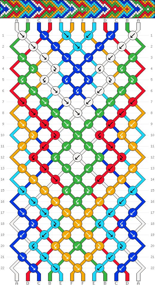 Схема фенечки 34694
