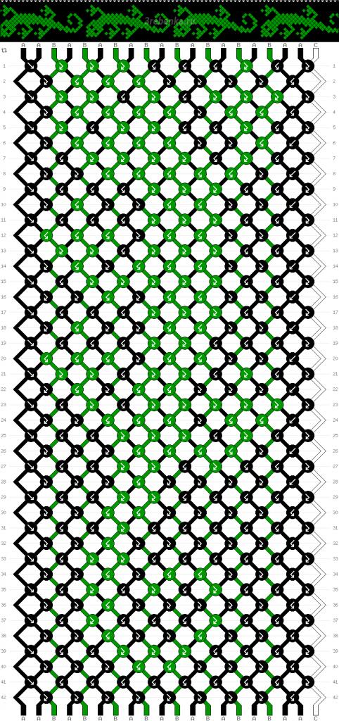 Схема фенечки 34698
