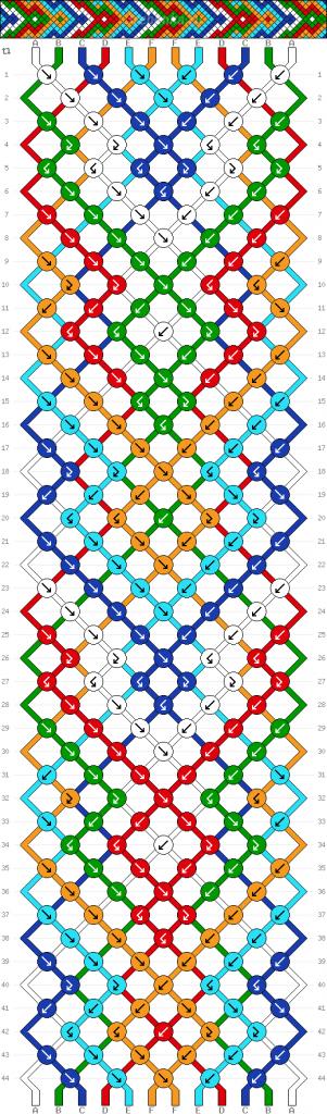 Схема фенечки 34702