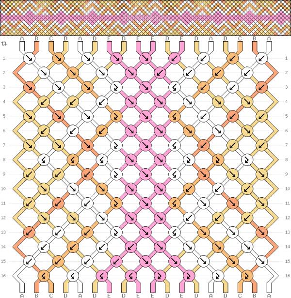 Схема фенечки 34706