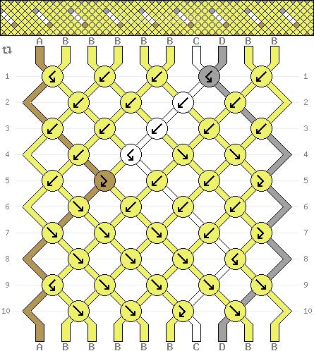 Схема фенечки 34718