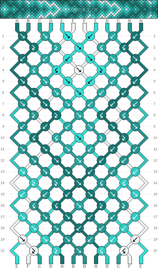 Схема фенечки 34722