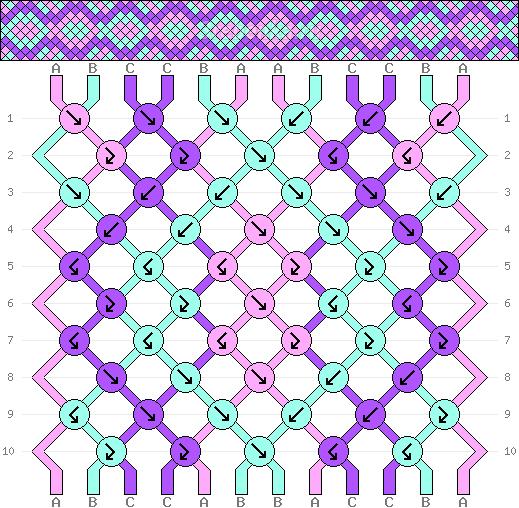 Схема фенечки 34738