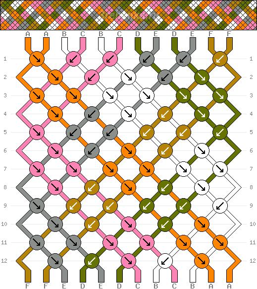 Схема фенечки 34793
