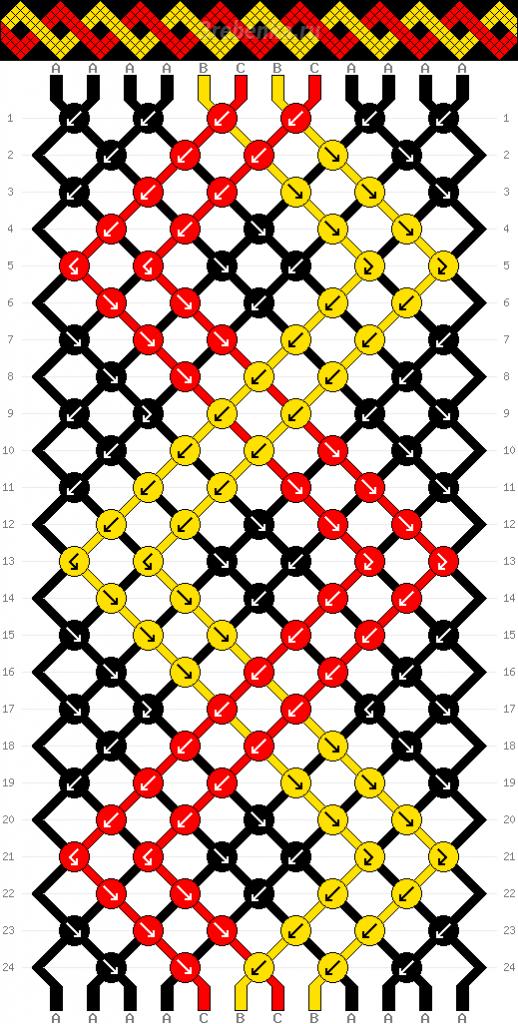 Схема фенечки 34802