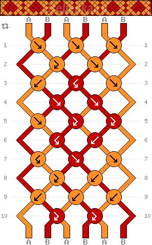 Схема фенечки 34838