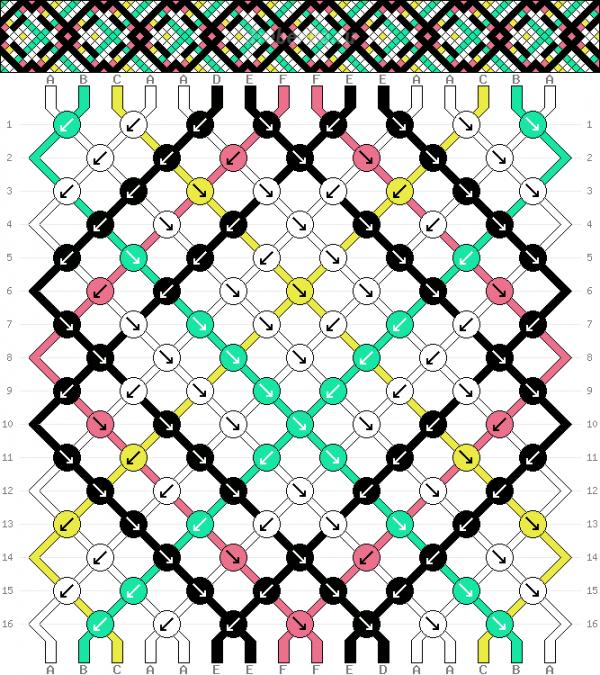 Схема фенечки 34852