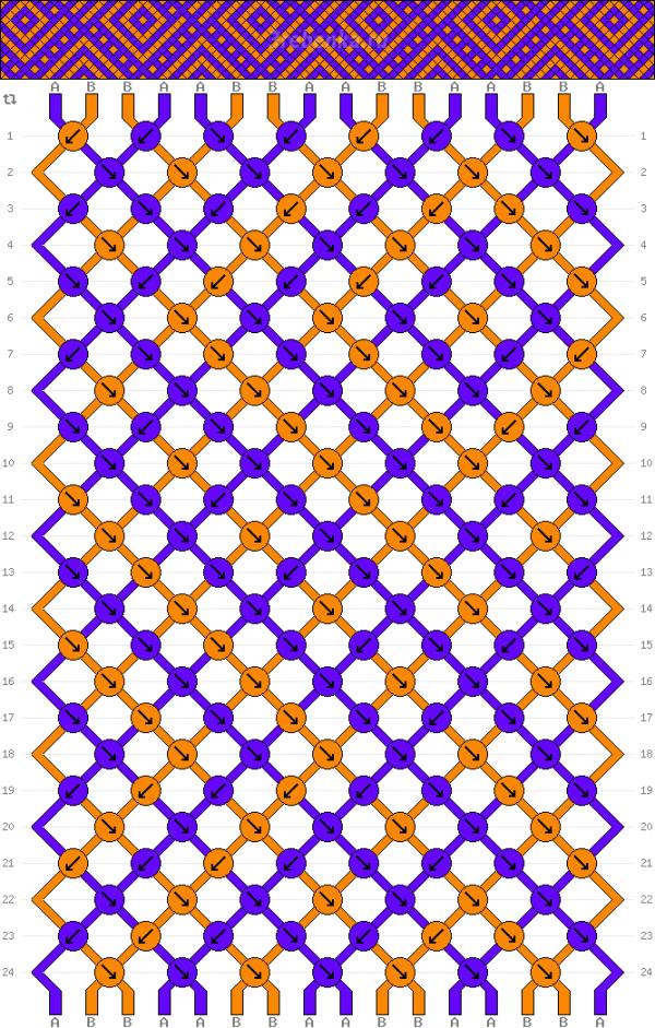 Схема фенечки 34856