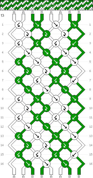 Схема фенечки 34868