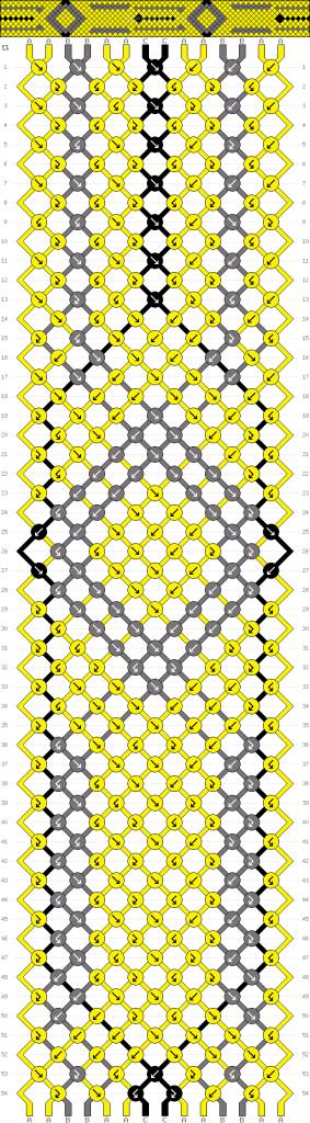 Схема фенечки 34923