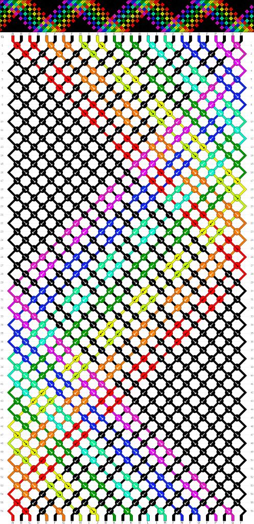 Схема фенечки 34947
