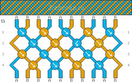 Схема фенечки 34951