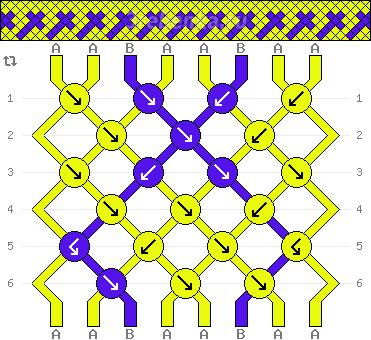 Схема фенечки 34955