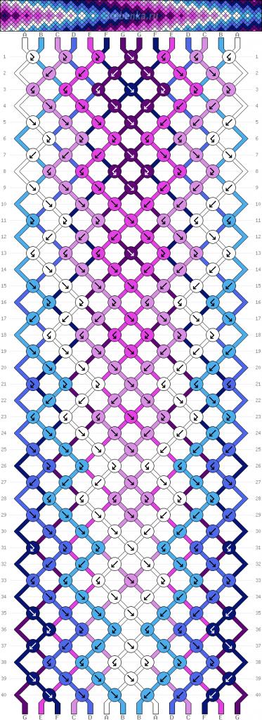Схема фенечки 34959