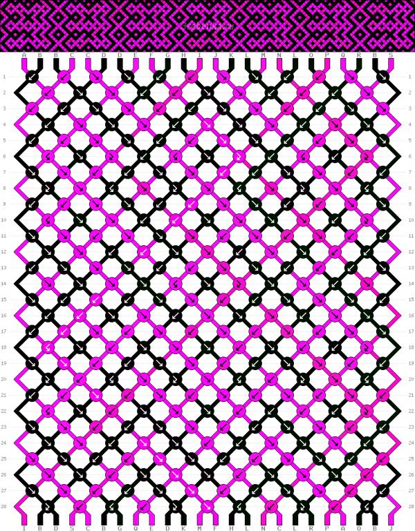 Схема фенечки 34994