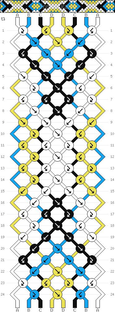 Схема фенечки 35014