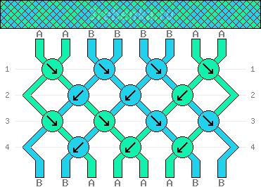 Схема фенечки 35022