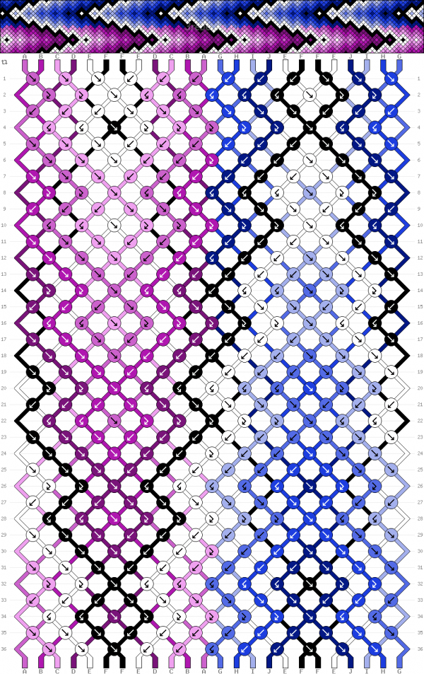 Схема фенечки 35026