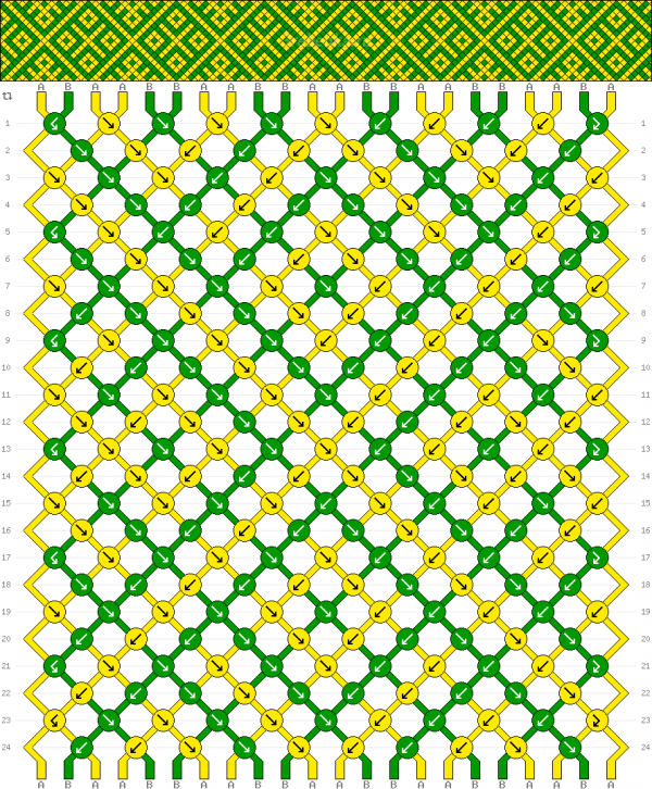 Схема фенечки 35034