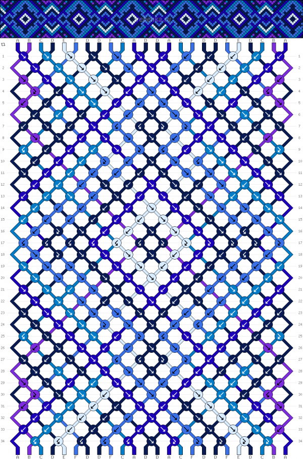 Схема фенечки 35038