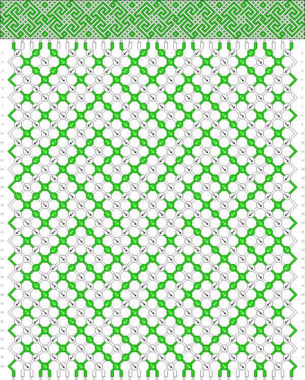 Схема фенечки 35050