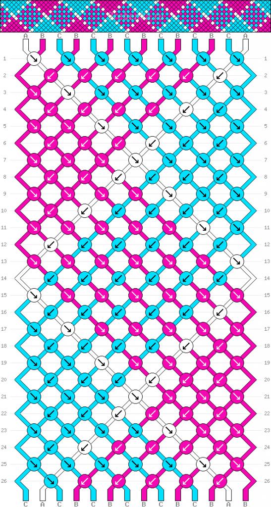 Схема фенечки 35054