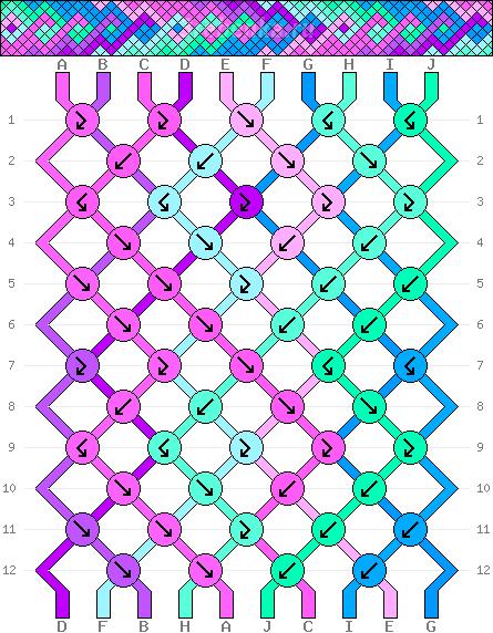 Схема фенечки 35123