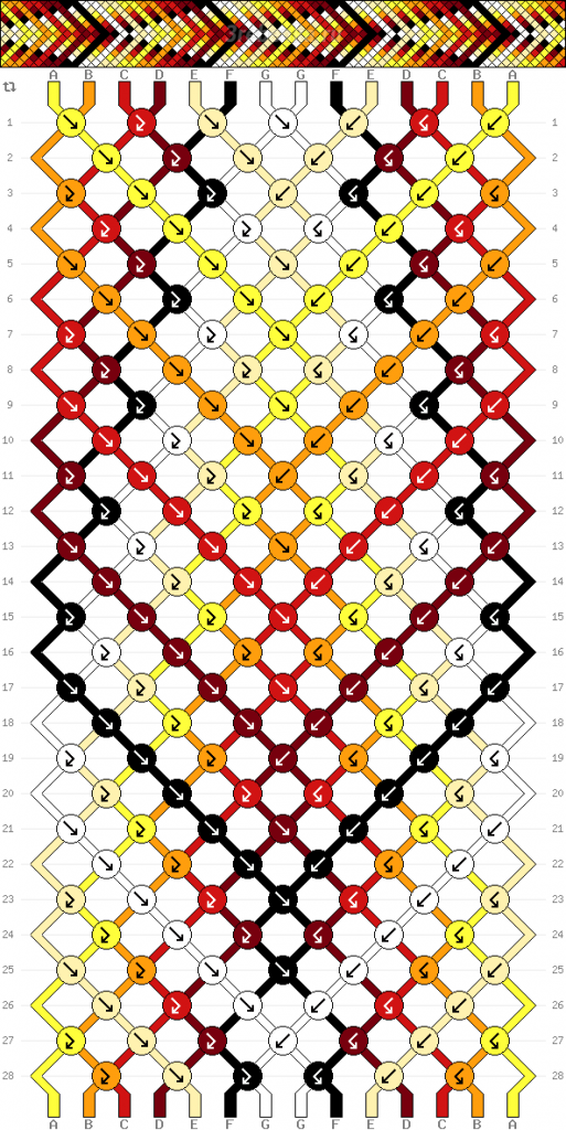 Схема фенечки 35135