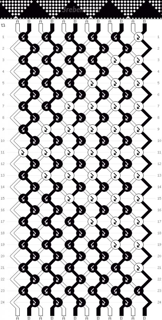 Схема фенечки 35139