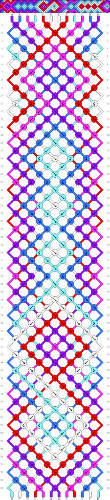 Схема фенечки 35147