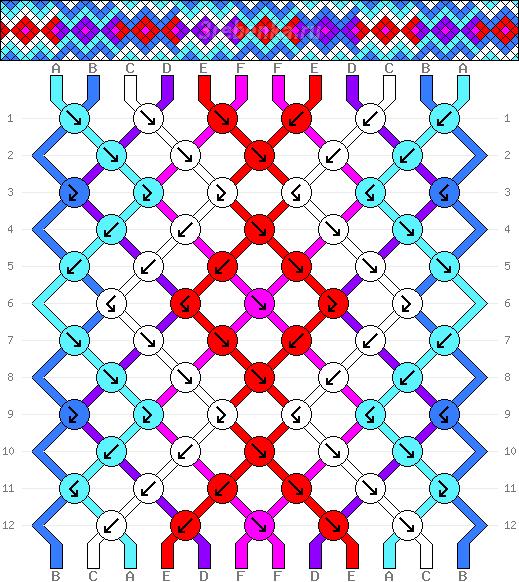 Схема фенечки 35155