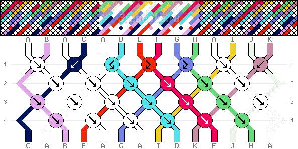 Схема фенечки 35159