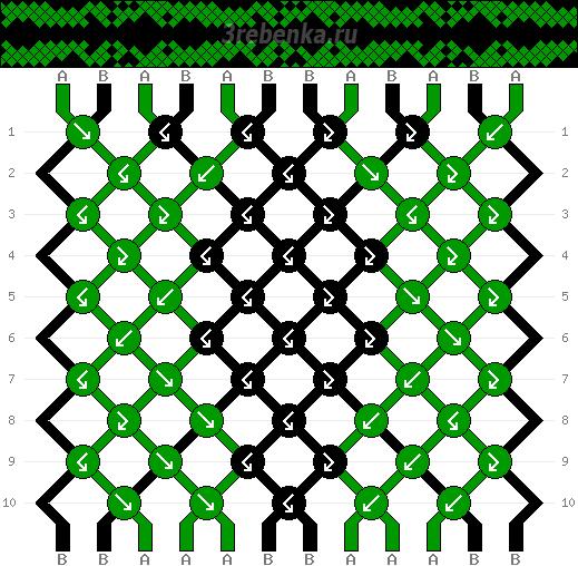 Схема фенечки 35163