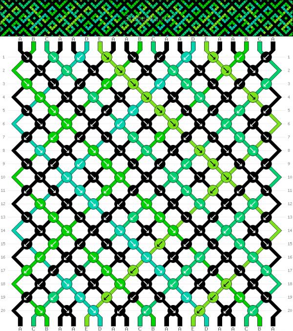 Схема фенечки 35167