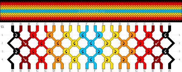 Схема фенечки 35171
