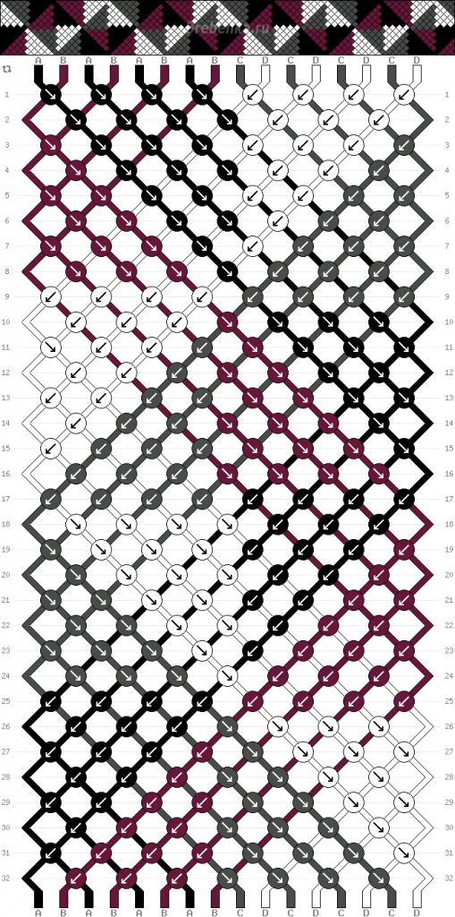 Схема фенечки 35179